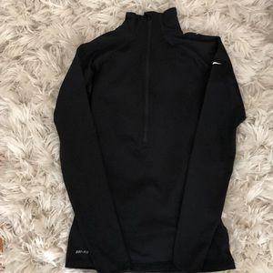 Nike pro zip up